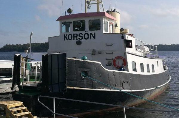 Korson boat at docks