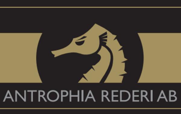 Antrophia Rederi logo gold brown